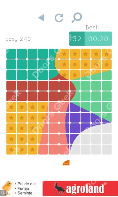 Cheats, Walkthrough for Blocks and Shapes Level 240