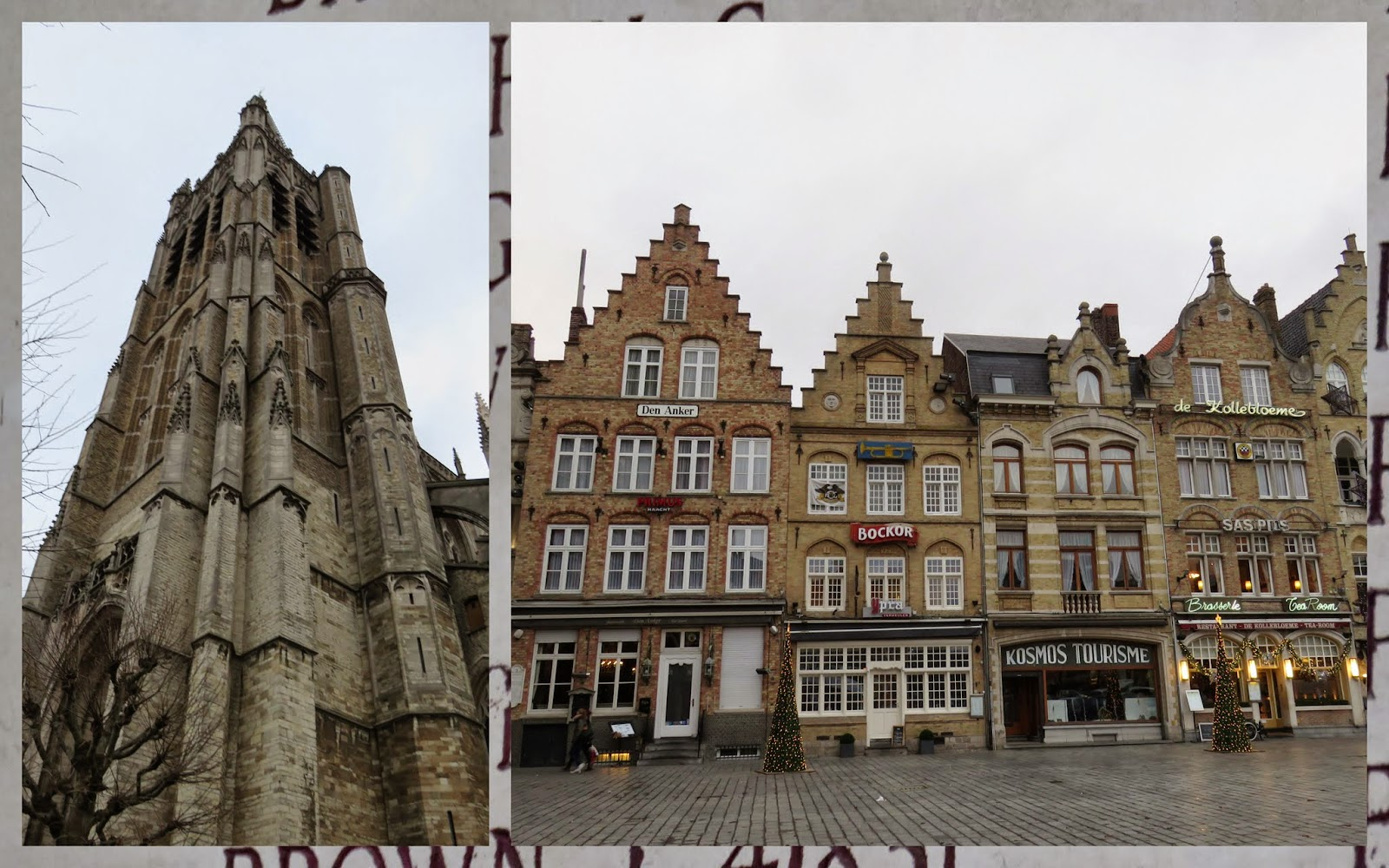 The Grote Markt in Ypres
