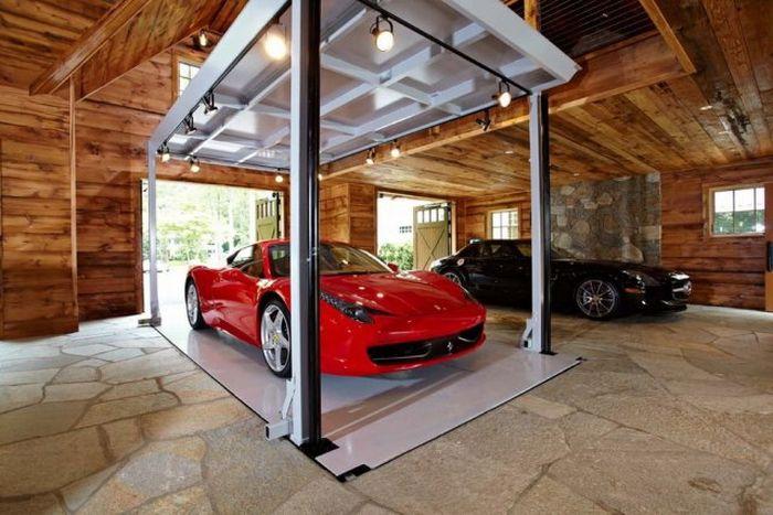 Garaj Kereta Yang Paling Mantap Di Dunia Admin Akan Bina Ni Kalaulah Ada Semewah Bawah Ini