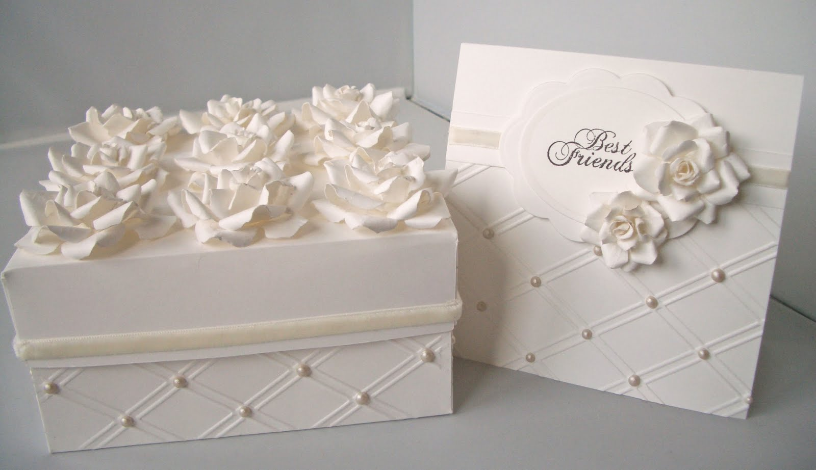 how to make wedding cake boxes julie s inkspot spellbinders creations 16008
