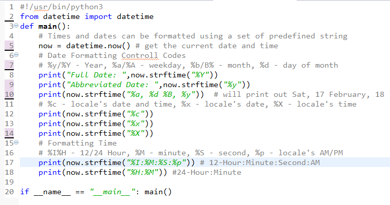 python string template - learn programming python strftime datetime formatting