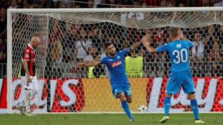 telecronisti tifosi, Napoli, Nizza, Auriemma, Champions League,