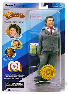 SDCC 2018 MEGO Target Exclusive Action Figures Cheers Norm 001
