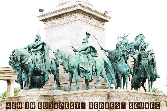 Travel video 48h in Budapest, Heroes' Square.Trg Heroja u Budimpesti video.Budapest videos.