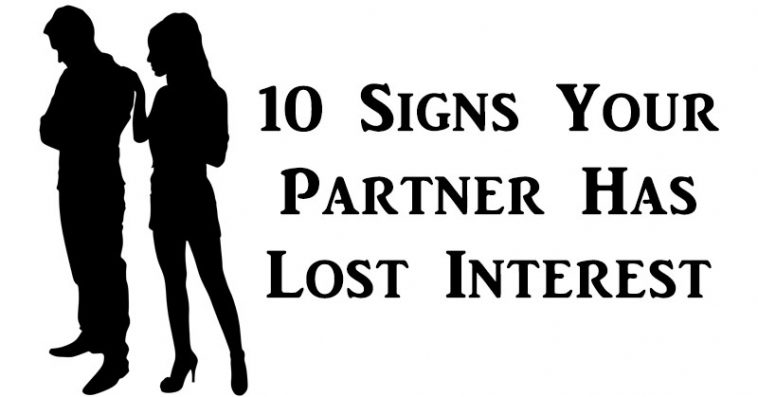 signs your partner losing interest