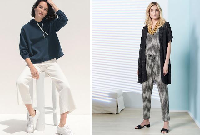 Пуловер, брюки и комбинезон в натуральном стиле