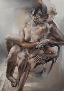 Alfredo Araujo  pintores Colombianos