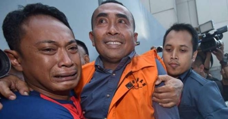 Usai Dilantik Jadi Bupati Buton,  Samsu Umar Abdul Saimun Akan Digiring Kembali ke Rutan Guntur
