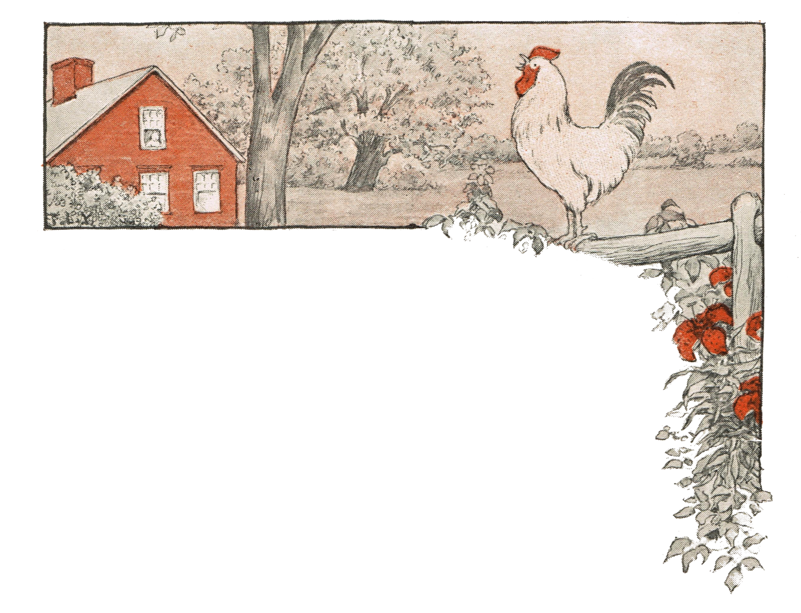 Antique Graphics Wednesday - 3 Chicken Images | Knick of Time