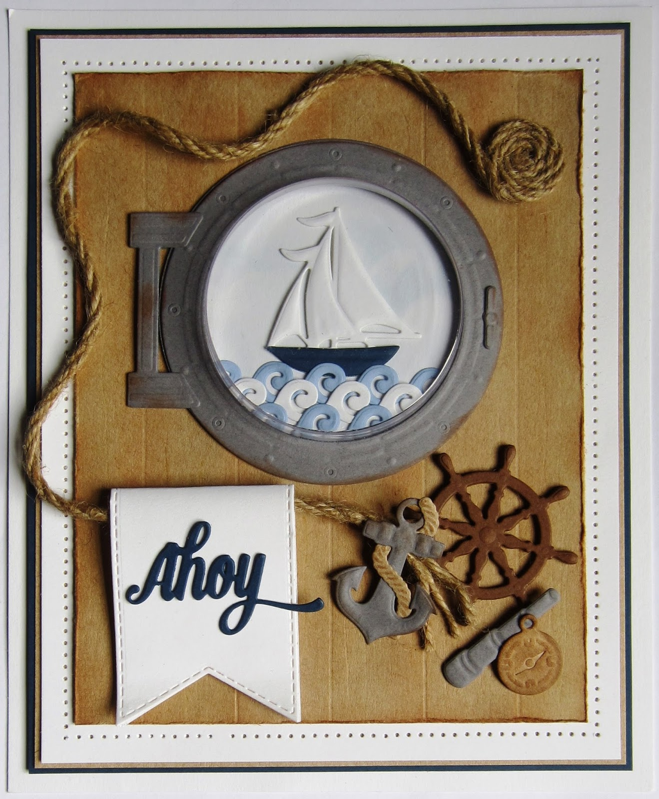 particraft  participate in craft   open porthole card