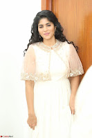 Megha Akash in beautiful Cream Transparent Anarkali Dress at Pre release function of Movie LIE ~ Celebrities Galleries 042.JPG