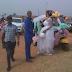 Photo: Edo politician arrives his wedding reception in a keke NAPEP