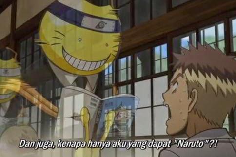 Ansatsu Kyoushitsu Episode 06 Subtitle Indonesia