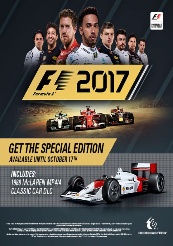 Download F1 2017 for PC free full version