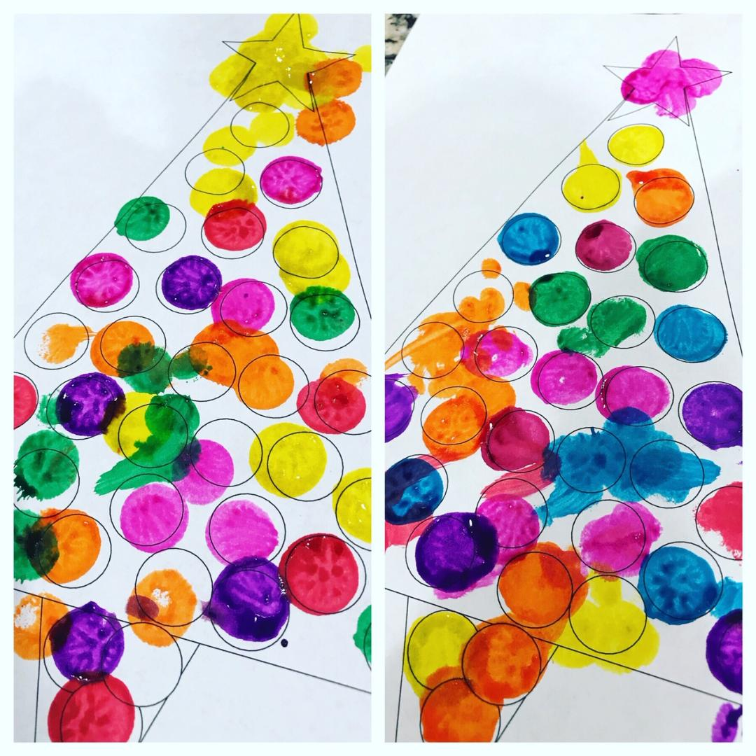 Christmas Crafts With Do A Dot Markers