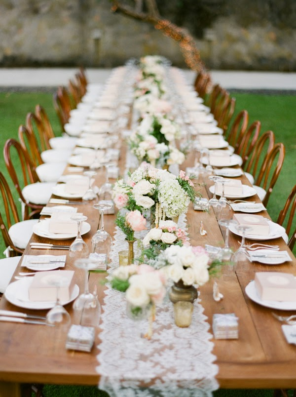 Bohemian Chic Wedding Centerpieces Table Ideas