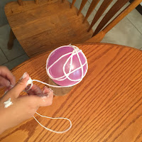 Halloween Craft: Spider Orb