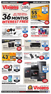 Visions Electronics Flyer Canada July 20 - 26, 2018