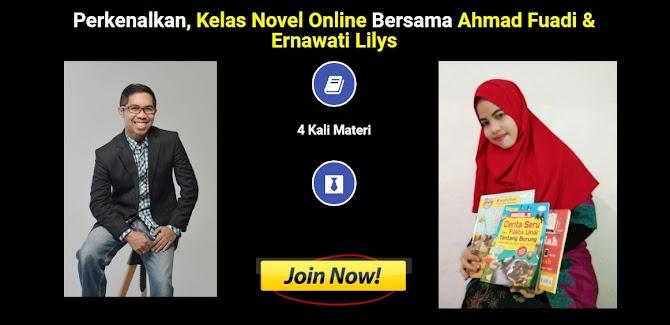 Kelas Novel Online Bersama A Fuadi