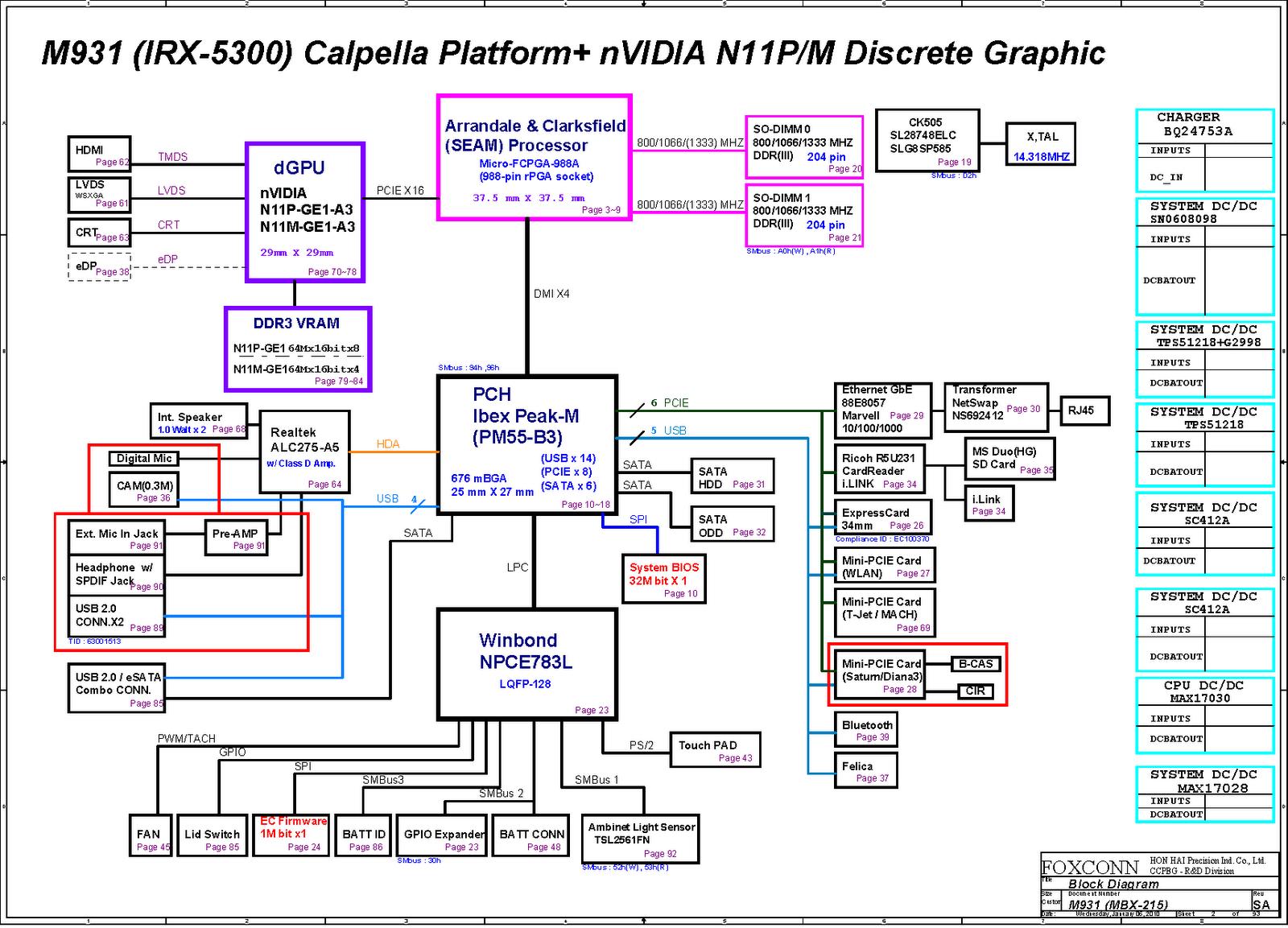 Laptop View: Sony Vaio VPC F Series M931 MBX 215