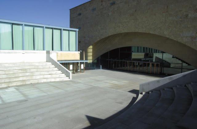 Palacio Congresos de Castilla y León en Salamanca | Navarro Baldeweg | Cúpula de hormigón
