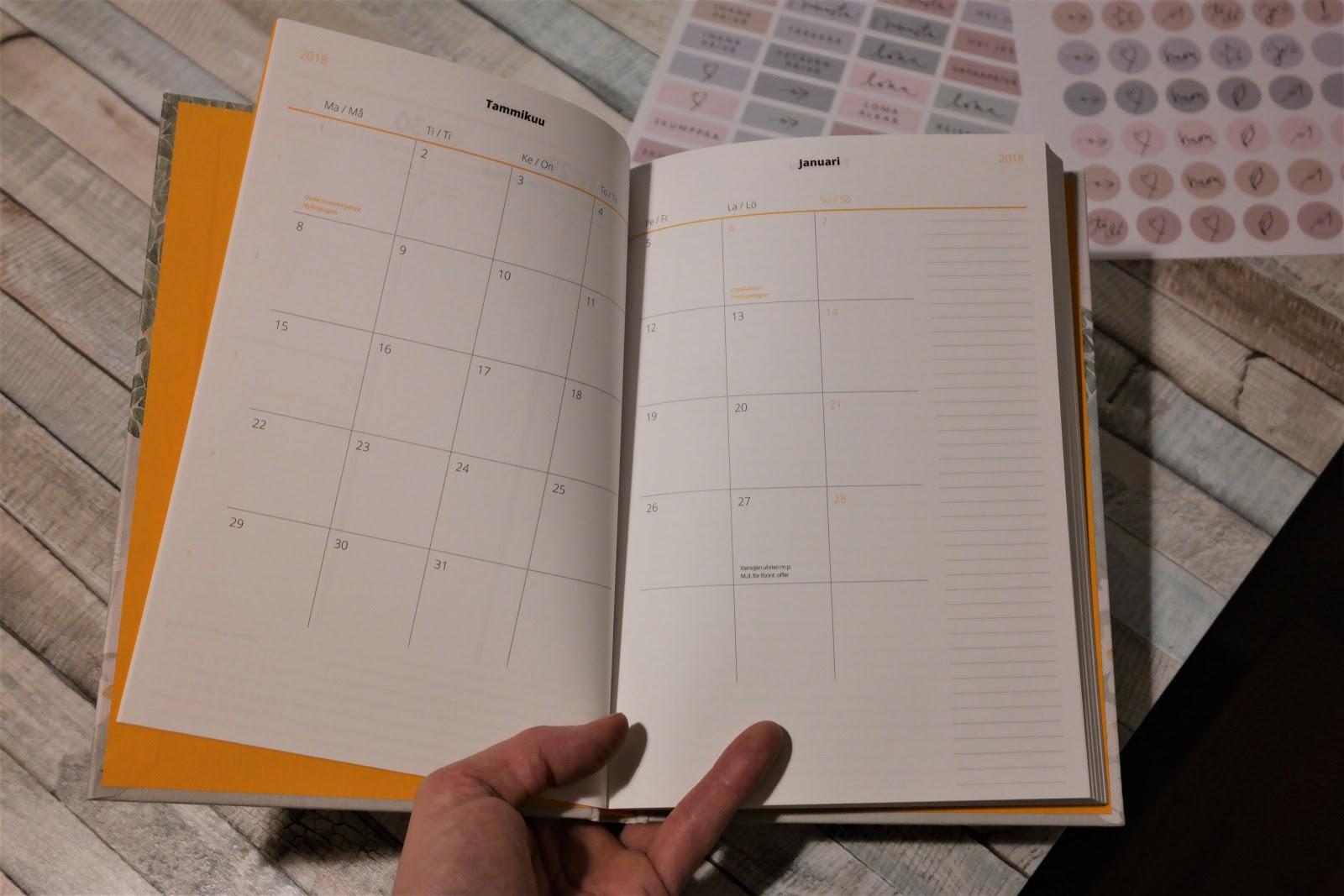 Kalenteri vuodelle 2018