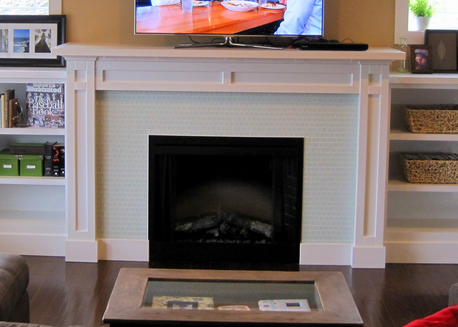 I Married A Tree Hugger Built In Fireplace Inspiration