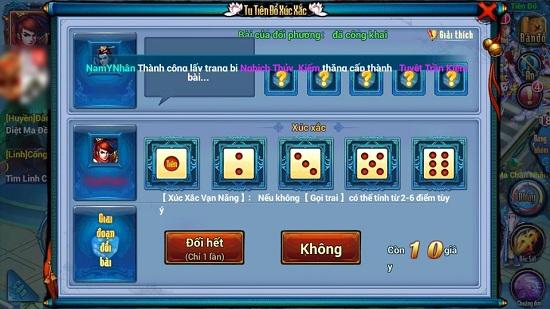 Game đổ xúc xắc là những game sử dụng những viên xí ngầu để quyết định kết quả trò chơi.