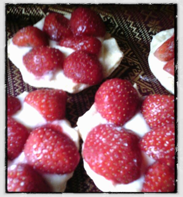 Cheat Strawberry Tartlets