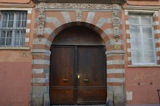Toulouse. Plaça i carrer Mage
