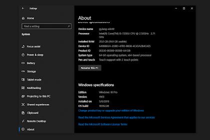 Windows 10 1903 Insider Release Preview! Sementara Masih Lancar!