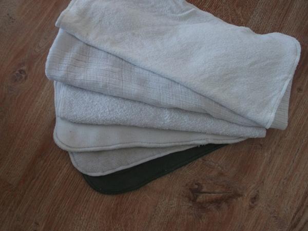 wkłady do pieluszek wielorazowych