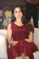 Pragya Jaiswal in Stunnign Deep neck Designer Maroon Dress at Nakshatram music launch ~ CelebesNext Celebrities Galleries 128.JPG