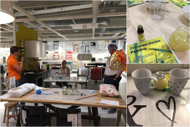 IKEA Family Midsommar Uebernachten im IKEA Einrichtungshaus Koeln kreativ