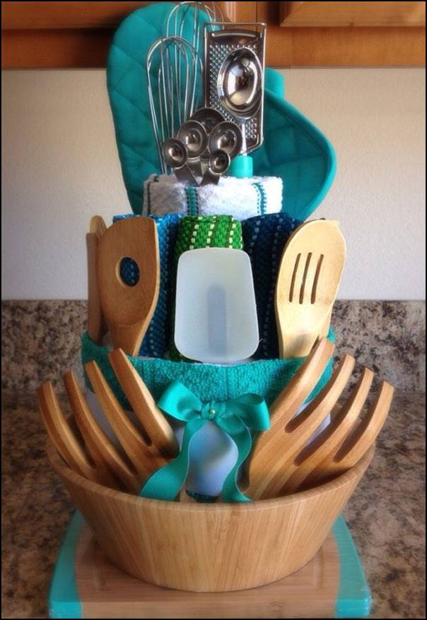 cesta de utensílios de cozinha
