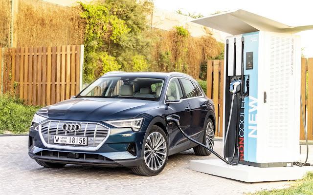Audi e-Tron, SUV elétrico, chega ao Brasil para testes