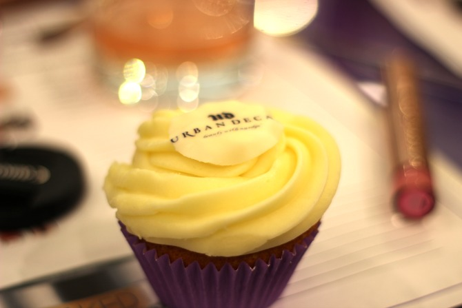 Urban Decay cup cakes, so yummy!