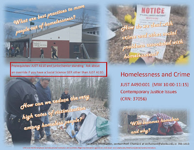 Homelessness and Crime (JUSTA490-001) flyer
