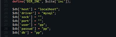 koneksi database ke hosting