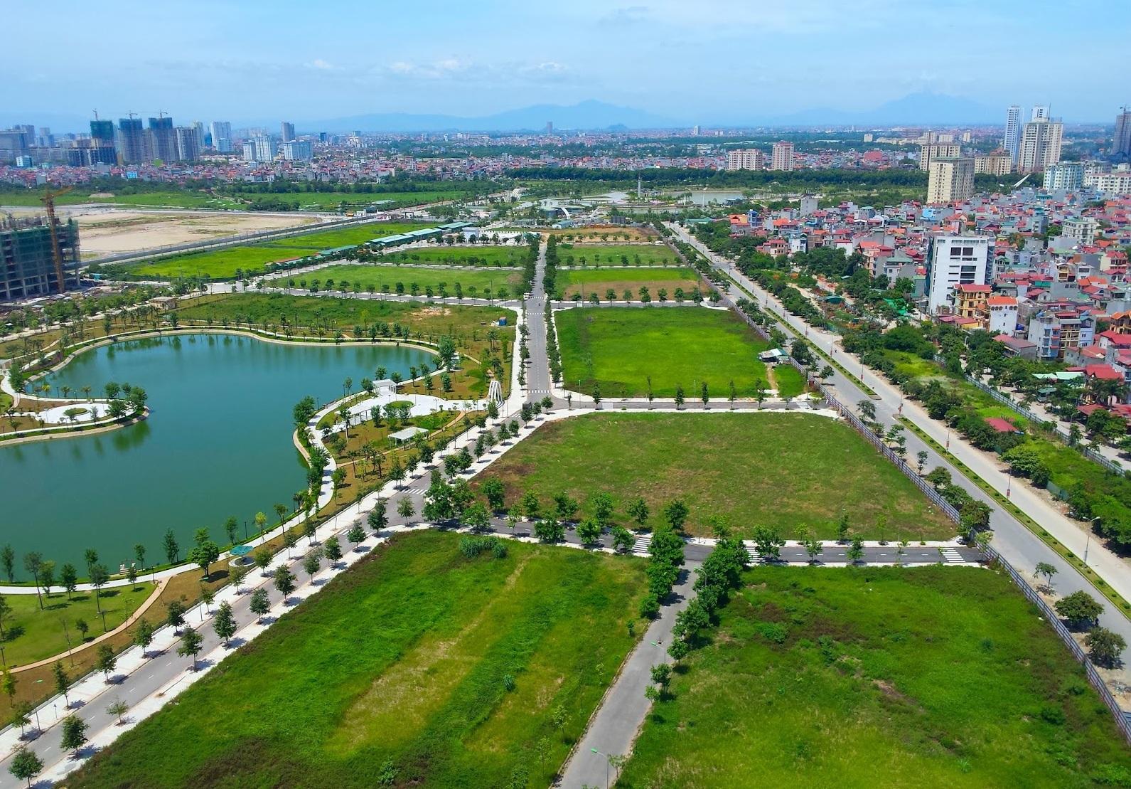 Han Jardin nằm trong khu đô thị Ngoại Giao Đoàn.