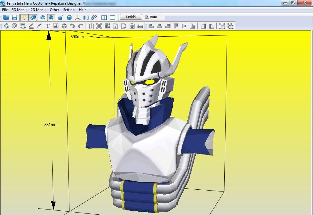 Our World Tenya Iida Hero Costume