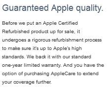 garansi kualitas produk apple refurbish