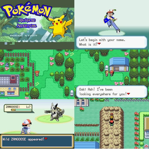 Pokemon Advanced Adventure