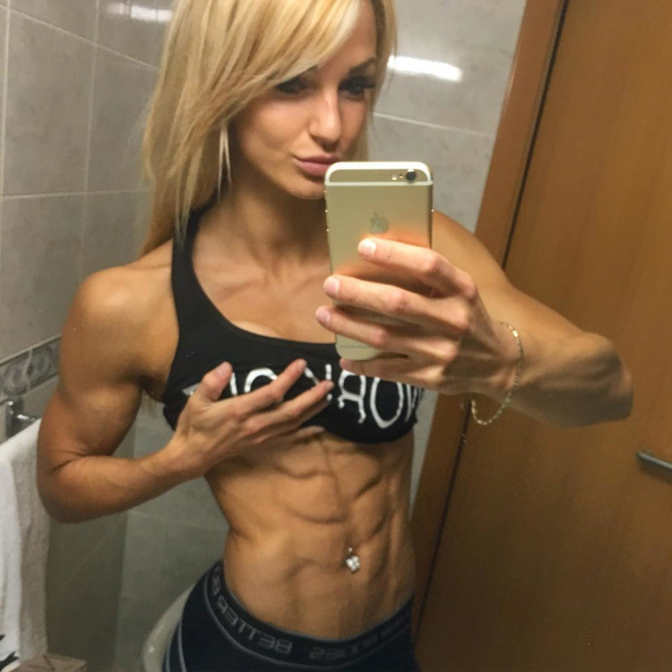 Fitness Model Catharina Wahl 01