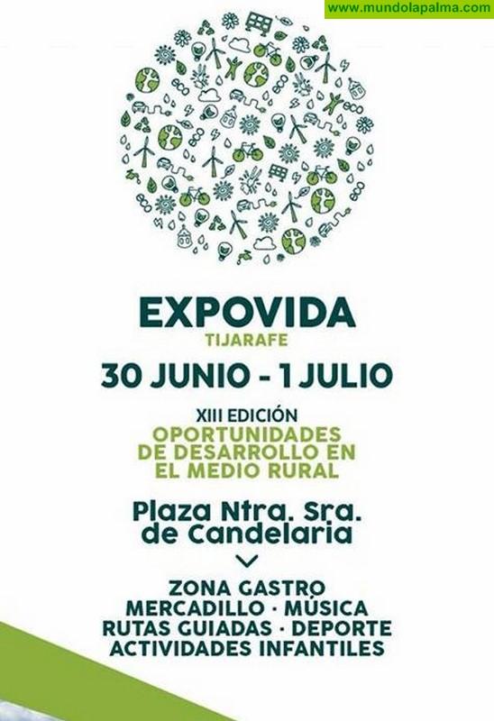 Tijarafe celebra este fin de semana la XIII Edición de Expovida