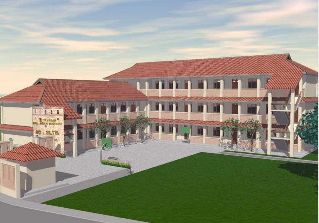 kreasi sekolah modern modern