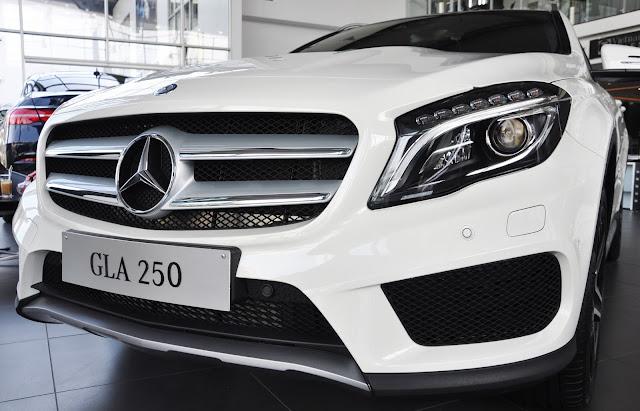 Mercedes GLA 250 4MATIC trang bị khối động cơ mạnh mẽ