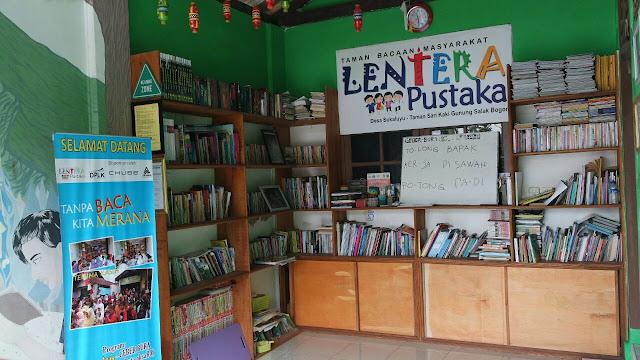 Mantap! Peduli Anak Putus Sekolah Warga Loa Ciapus Dirikan Taman Bacaan Adakan GeBer Bura