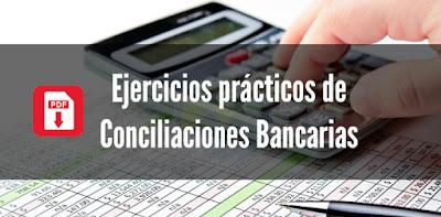 Ejercicios prácticos de Conciliaciones Bancarias en PDF