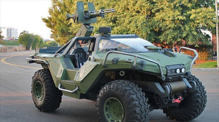 Real Life Halo Vehicles: Fictional Vehicles Recreated In Real Life